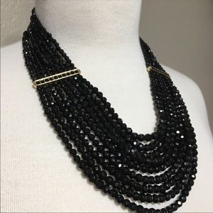 Banana Republic Multi Strand Statement Necklace